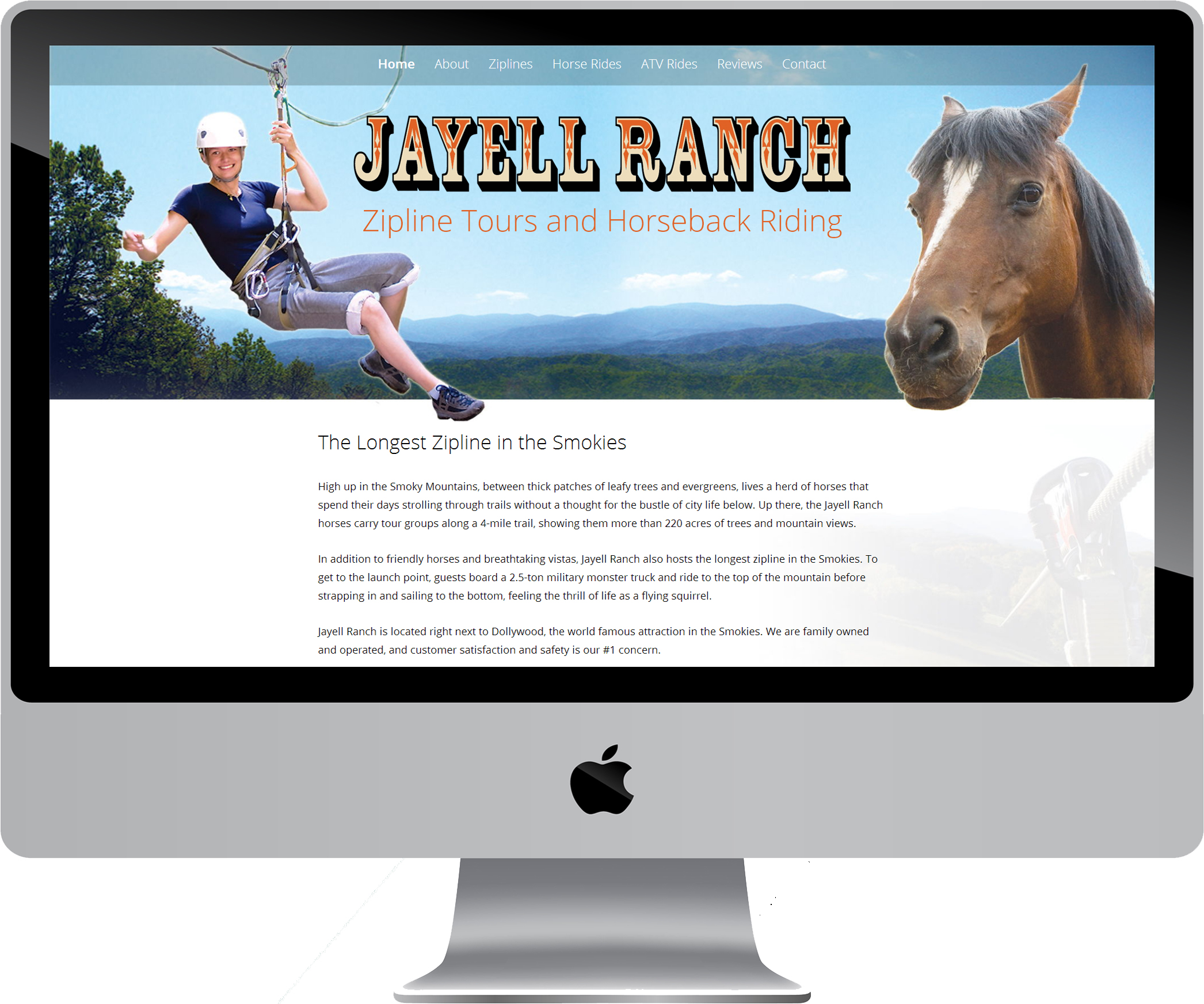 Jayell Ranch on a Desktop