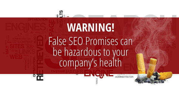 False SEO Promises