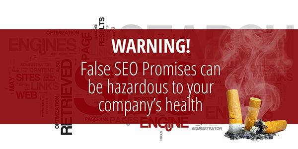 False SEO Promises