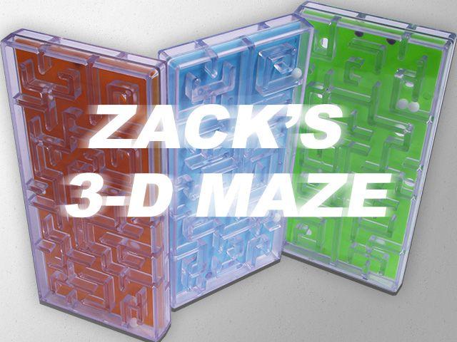 Zack's 3D Maze Toy