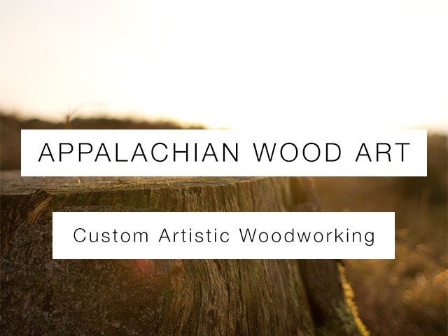 Appalachian Wood Art | Custom Woodworker Website Design