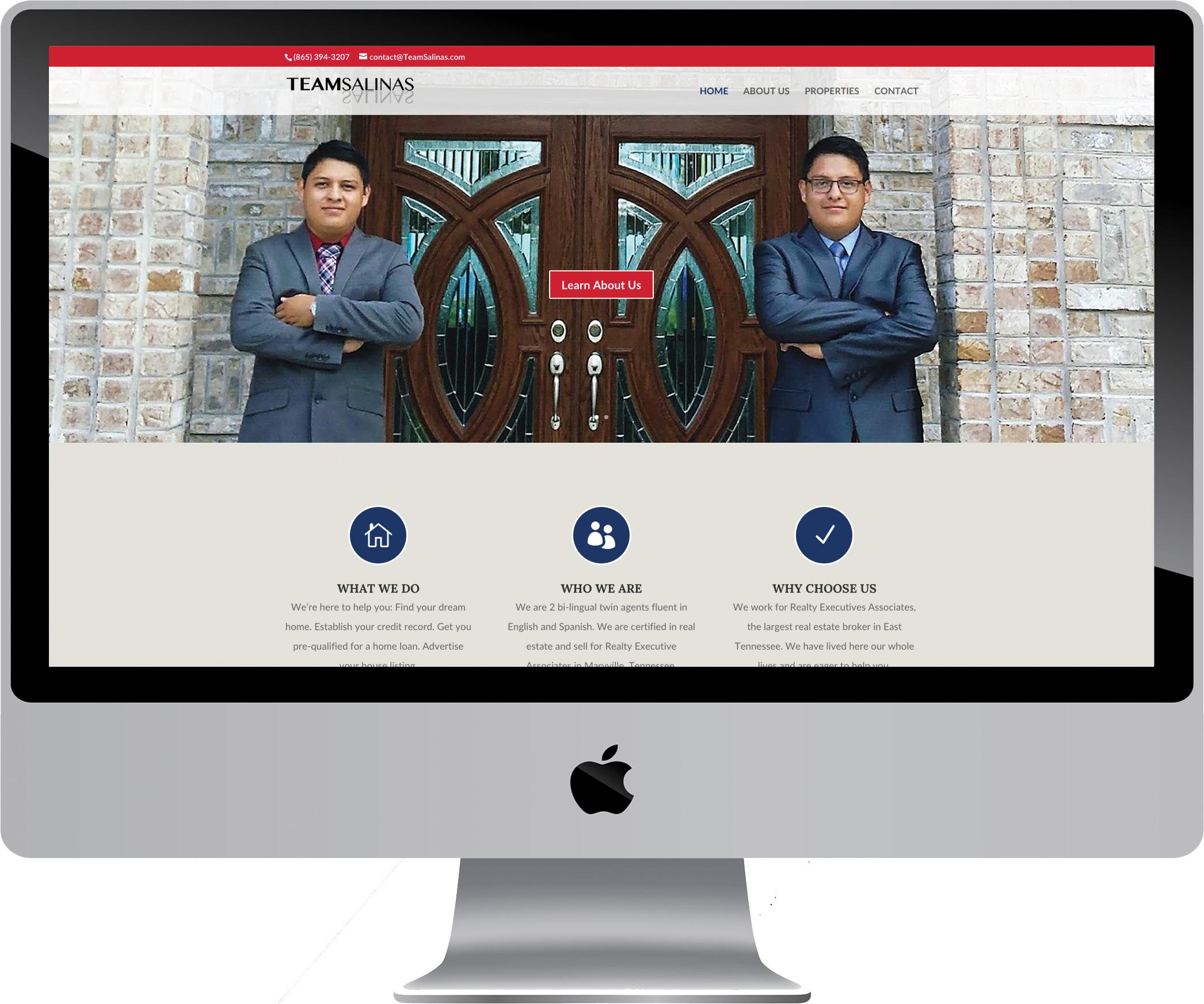 Team Salinas on a Desktop