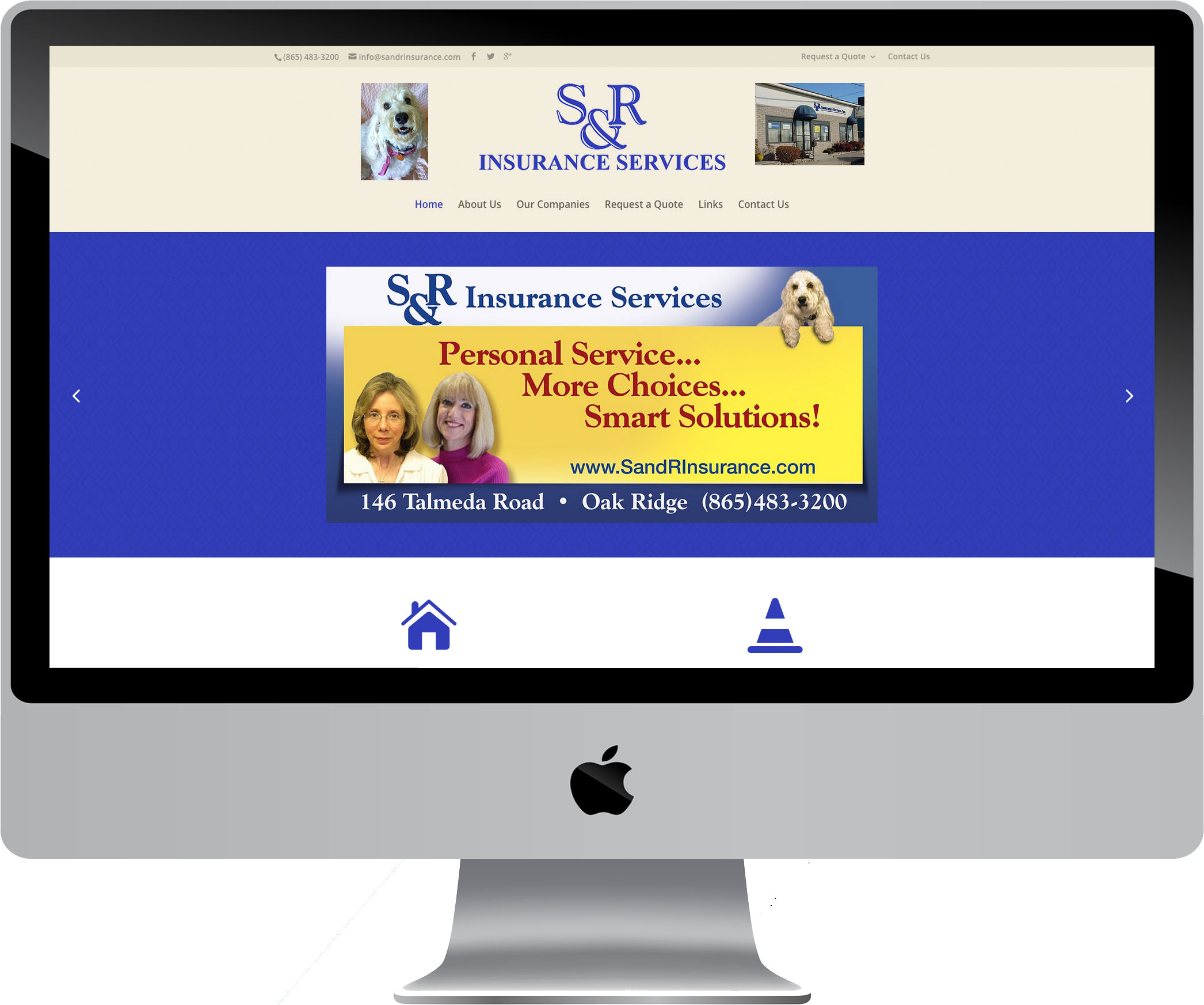 S & R Insurance Services, Inc. on a Desktop