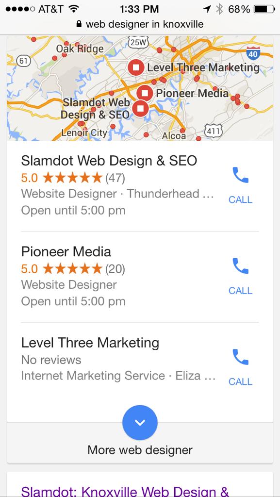 Pioneer Media is #2 on Google!
