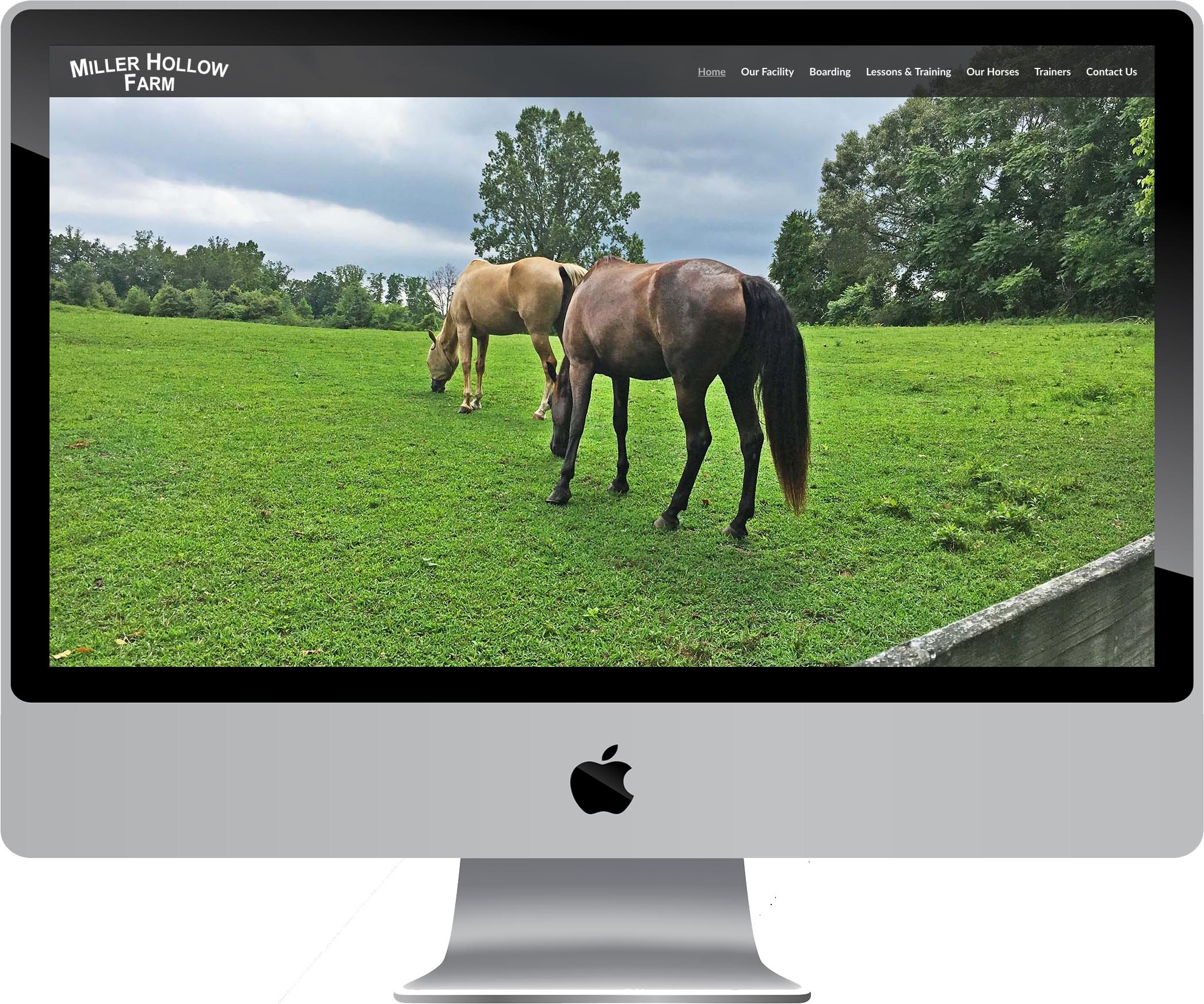 Miller Hollow Farm Responsive Web Design