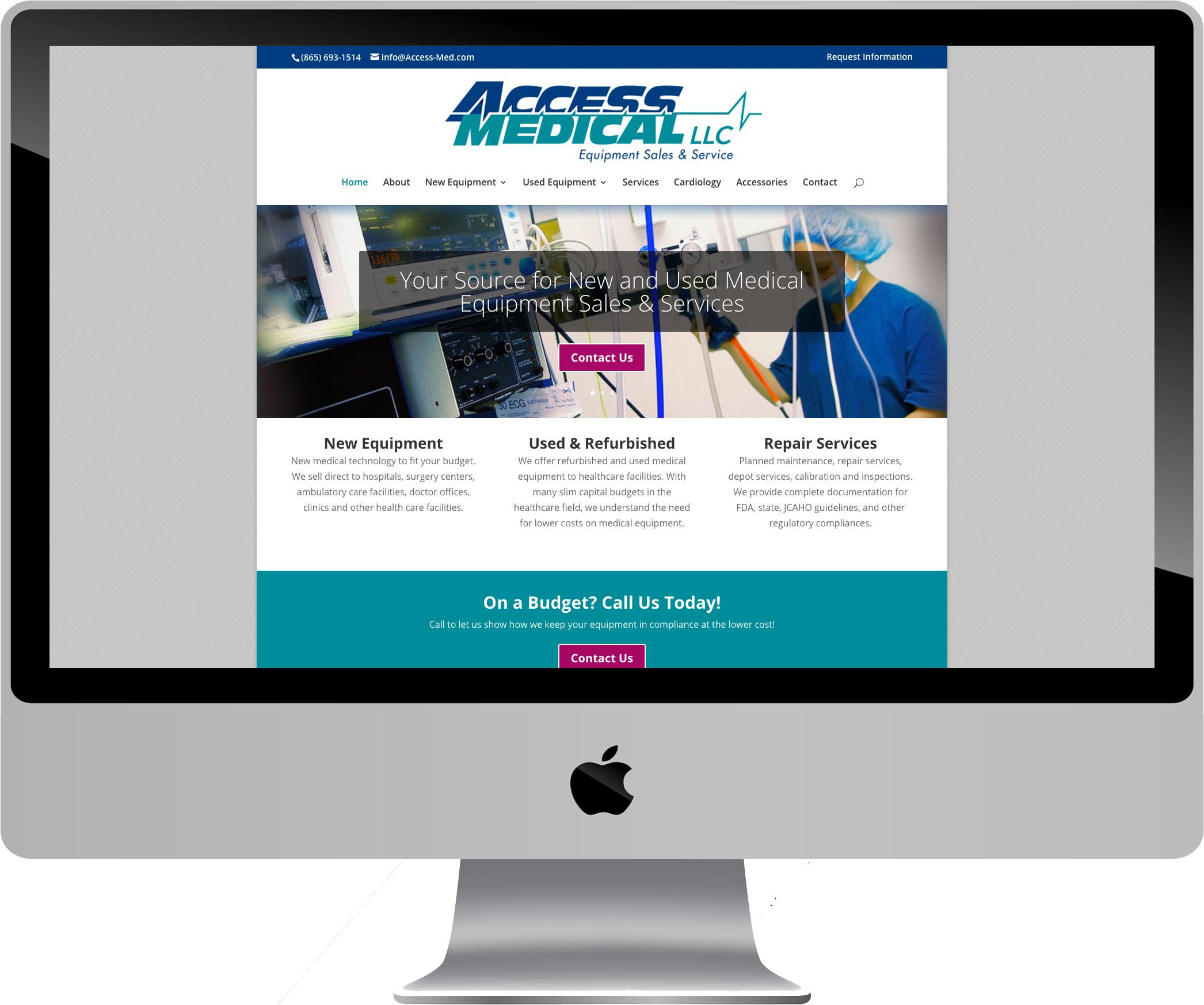 Access Medical WordPress Website Design