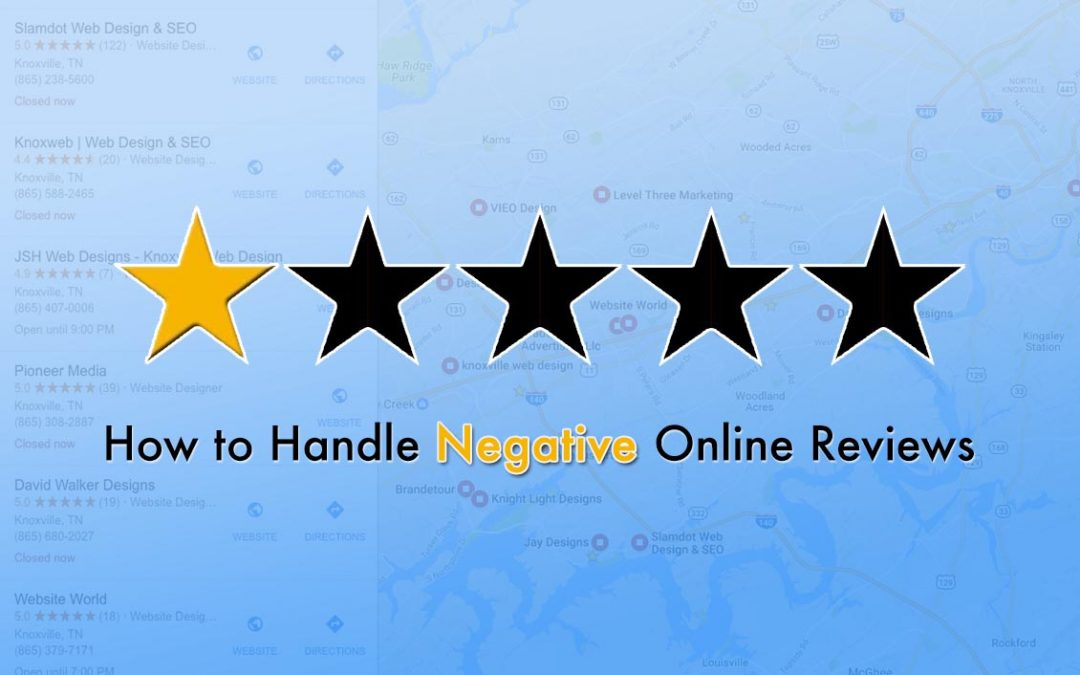 How to Handle Negative Reviews