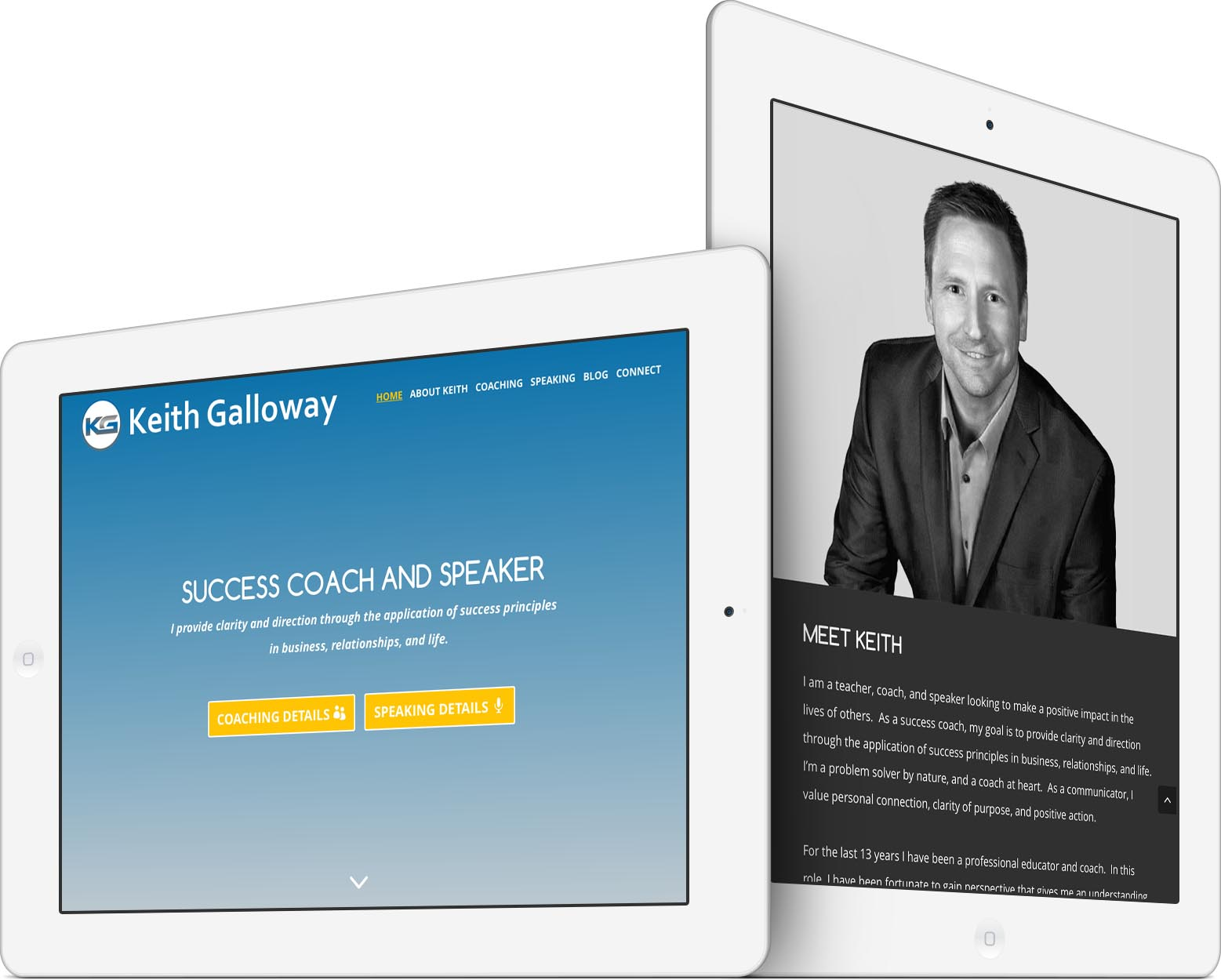 Keith Galloway Responsive Web Design