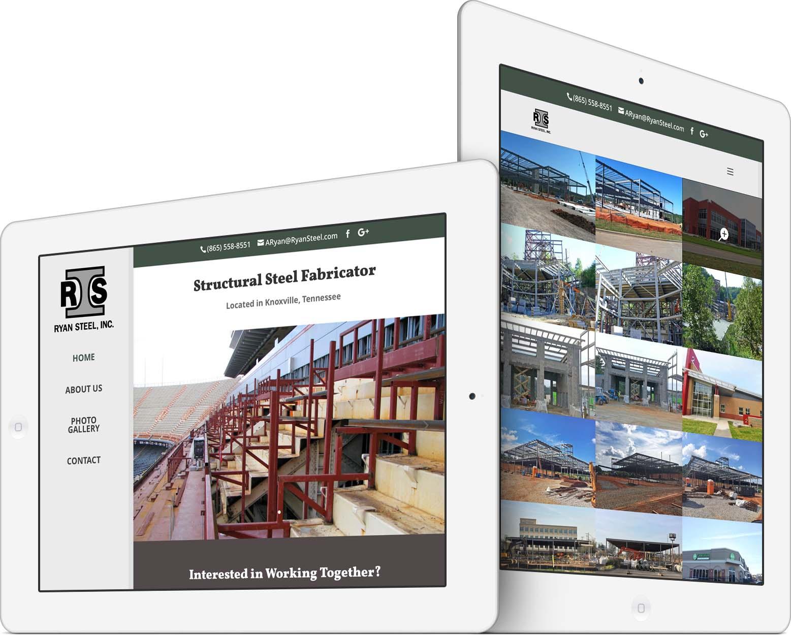 Ryan Steel Responsive Web Design
