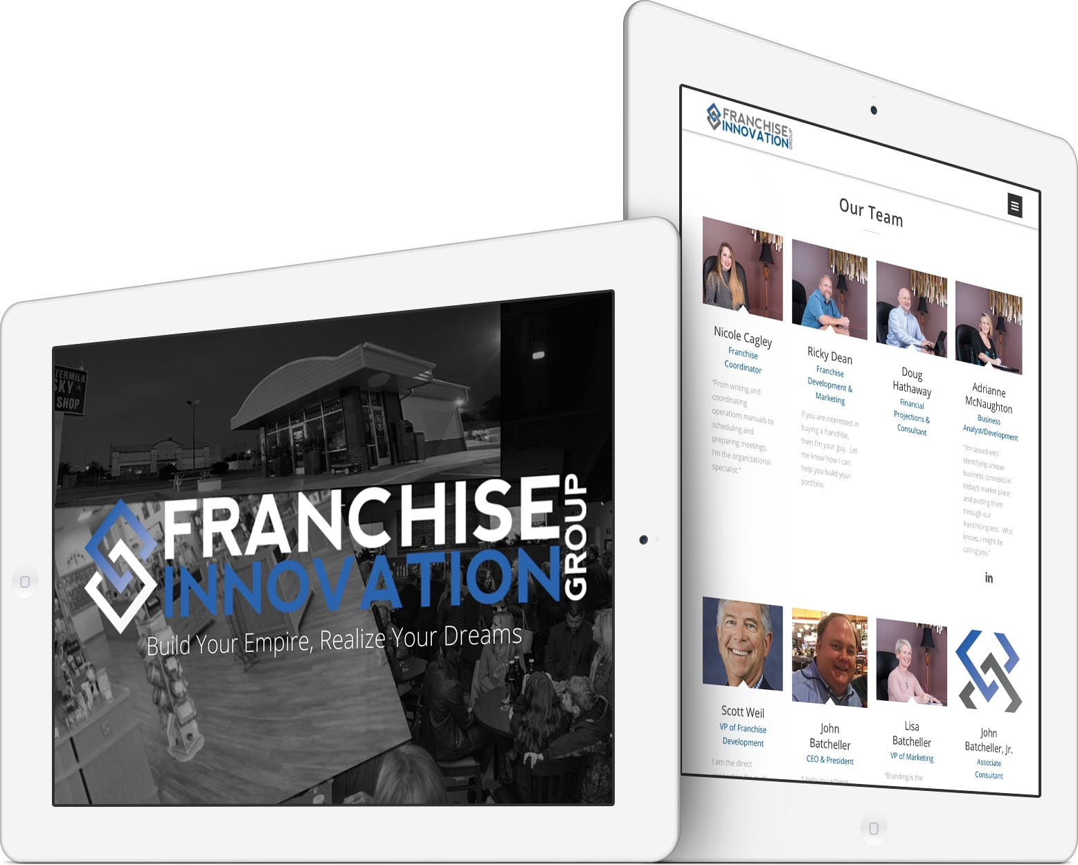 Franchise Innovation Group Responsive Web Design