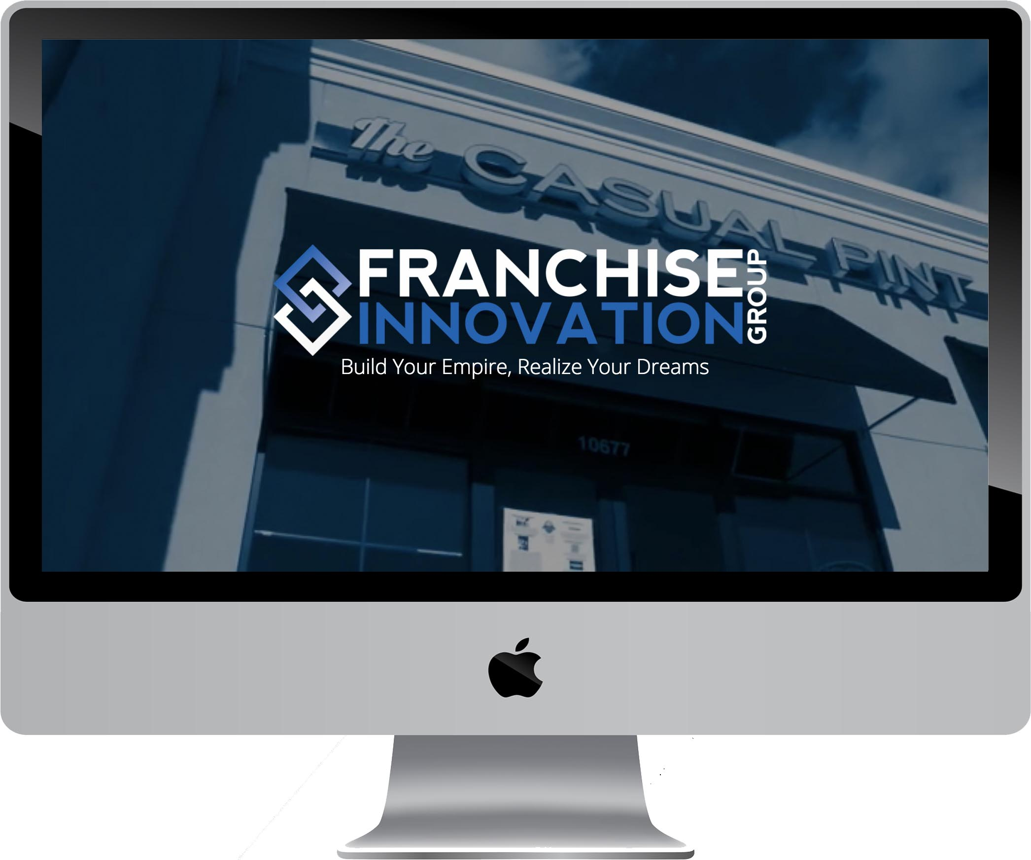 Franchise Innovation Group Website Design