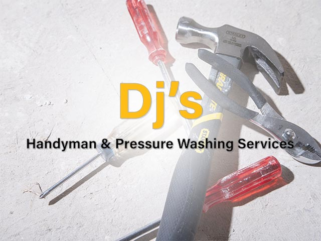 Dj's Handyman & Pressure Washing Services