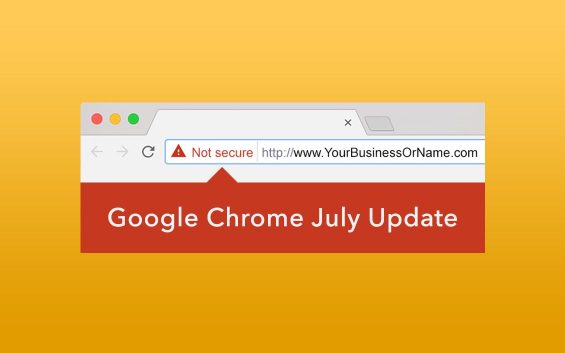 """Google Chrome Listing Websites Without SSL as """"Not Secure"""""""