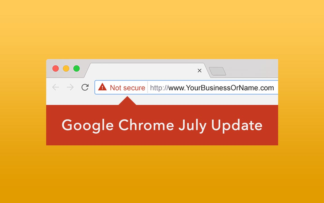SSL - Google Chrome July Update