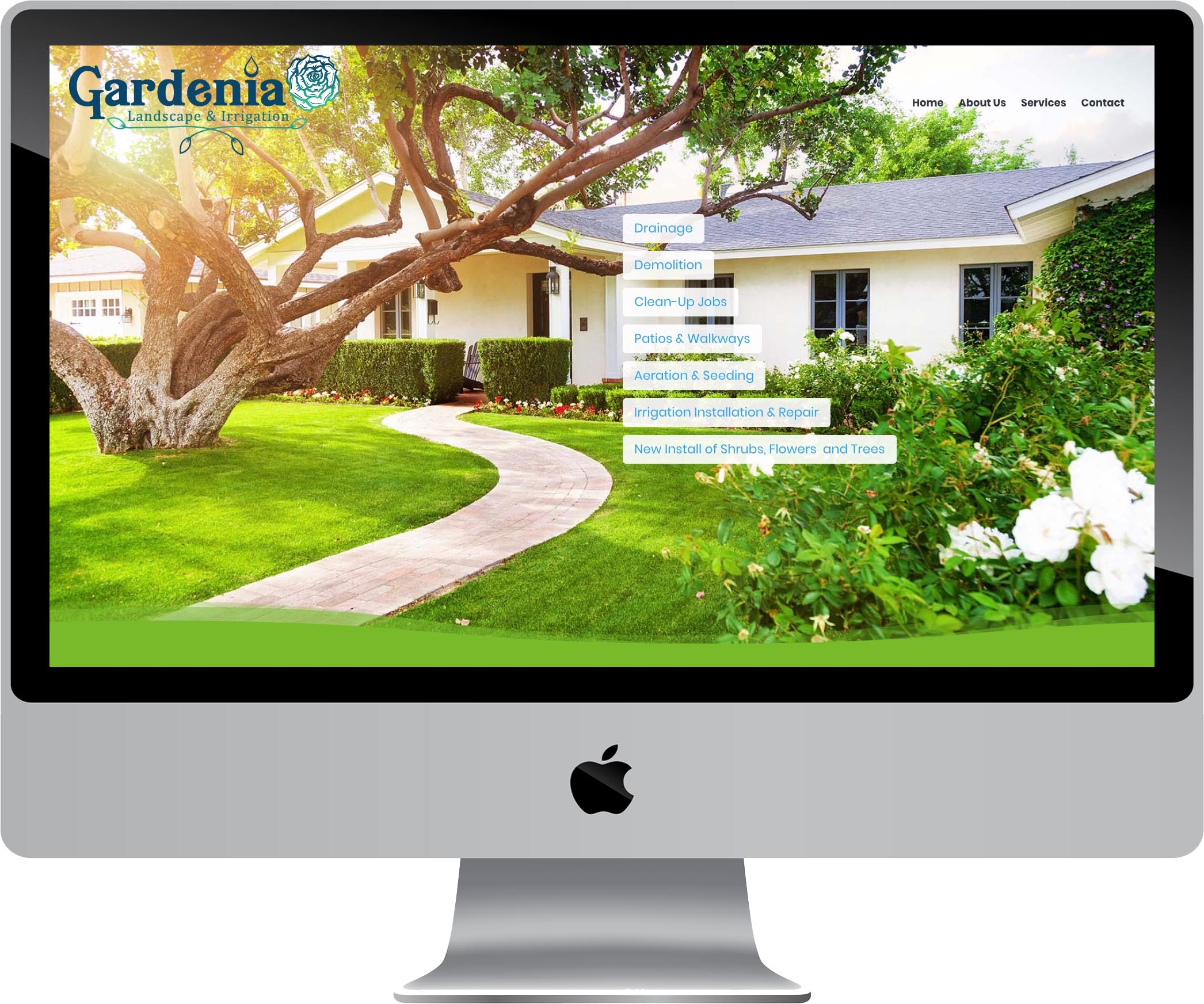 Gardenia Landscape & Irrigation Website Design