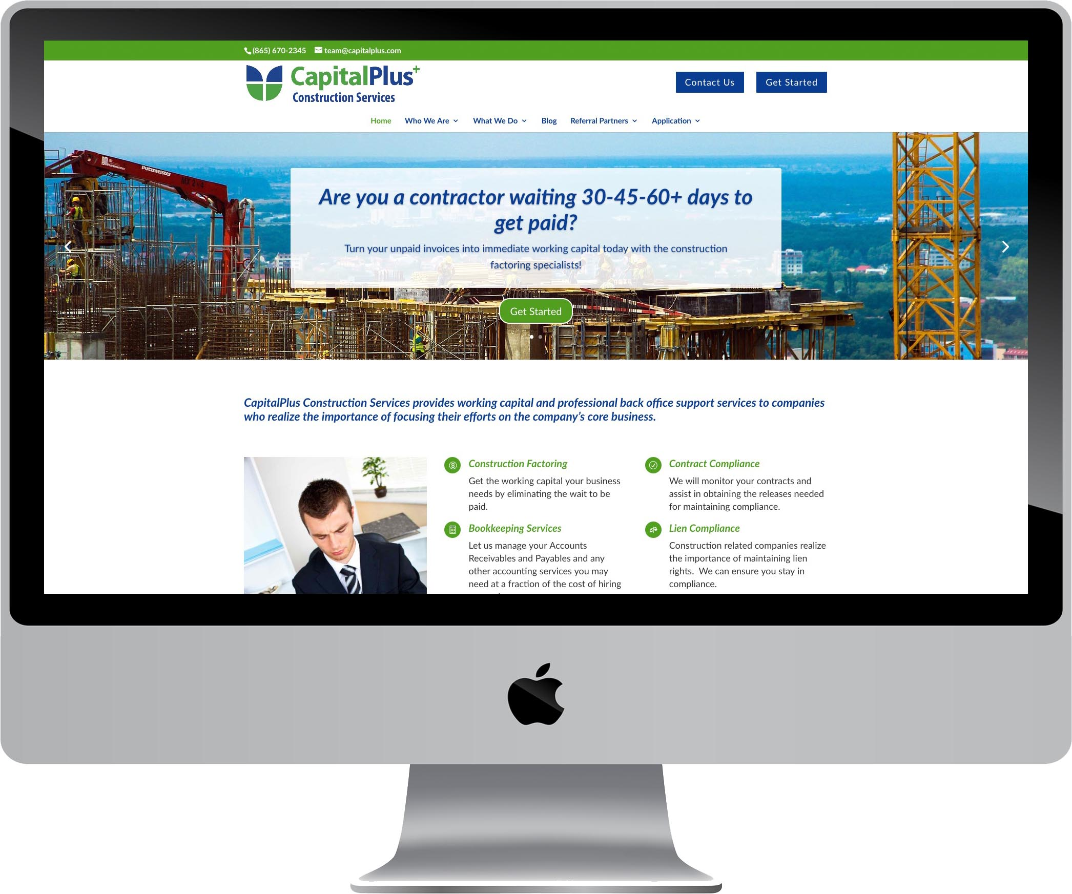 CapitalPlus Website Design