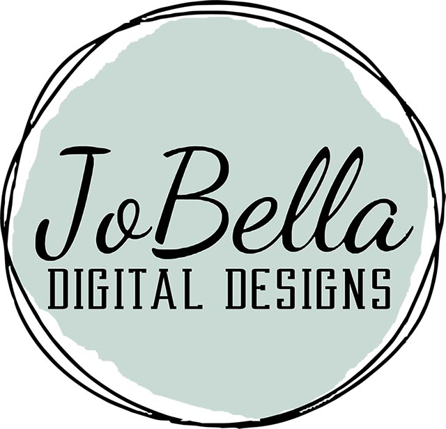 JoBella Digital Designs Logo