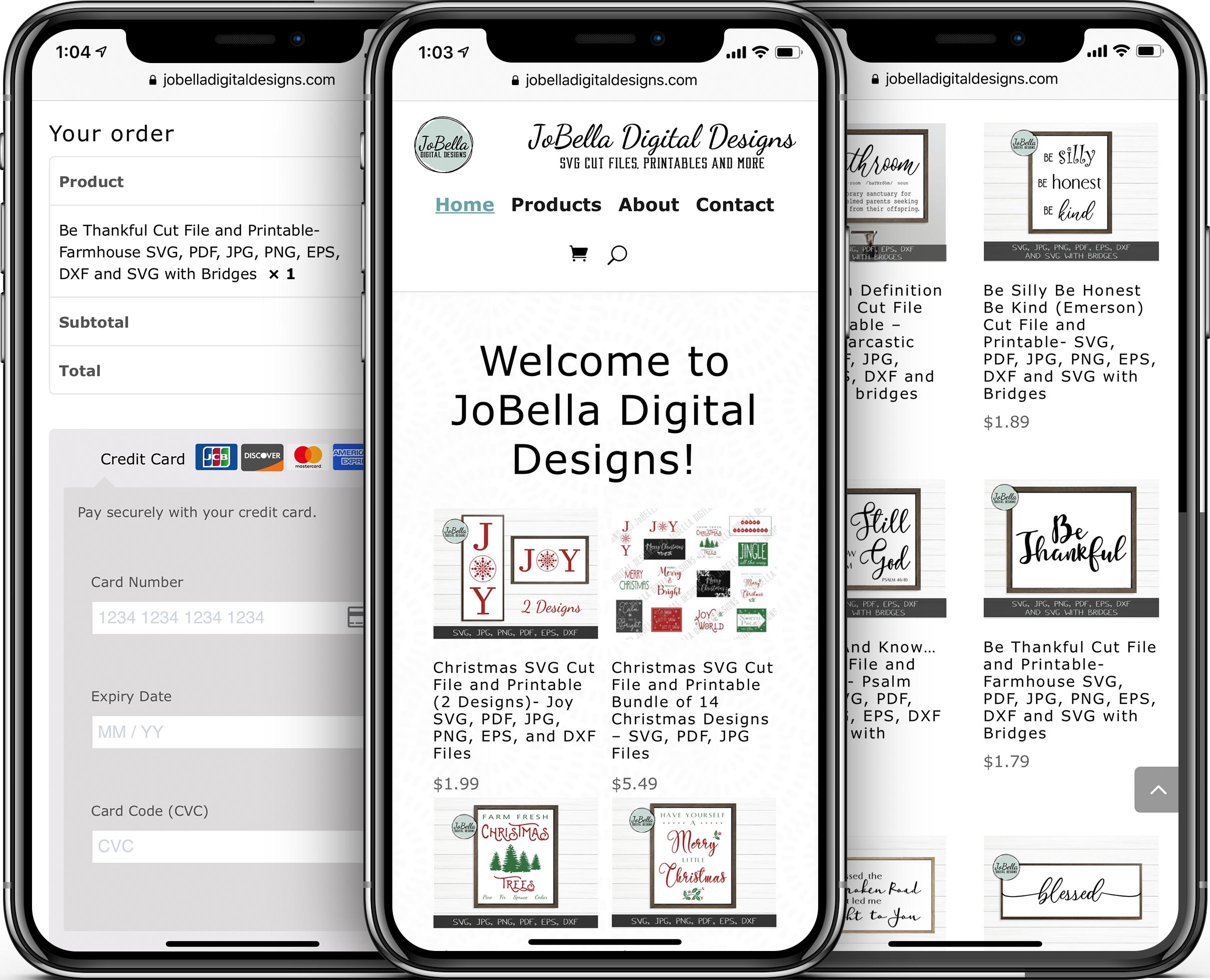 JoBella Digital Designs Mobile-Friendly Web Design