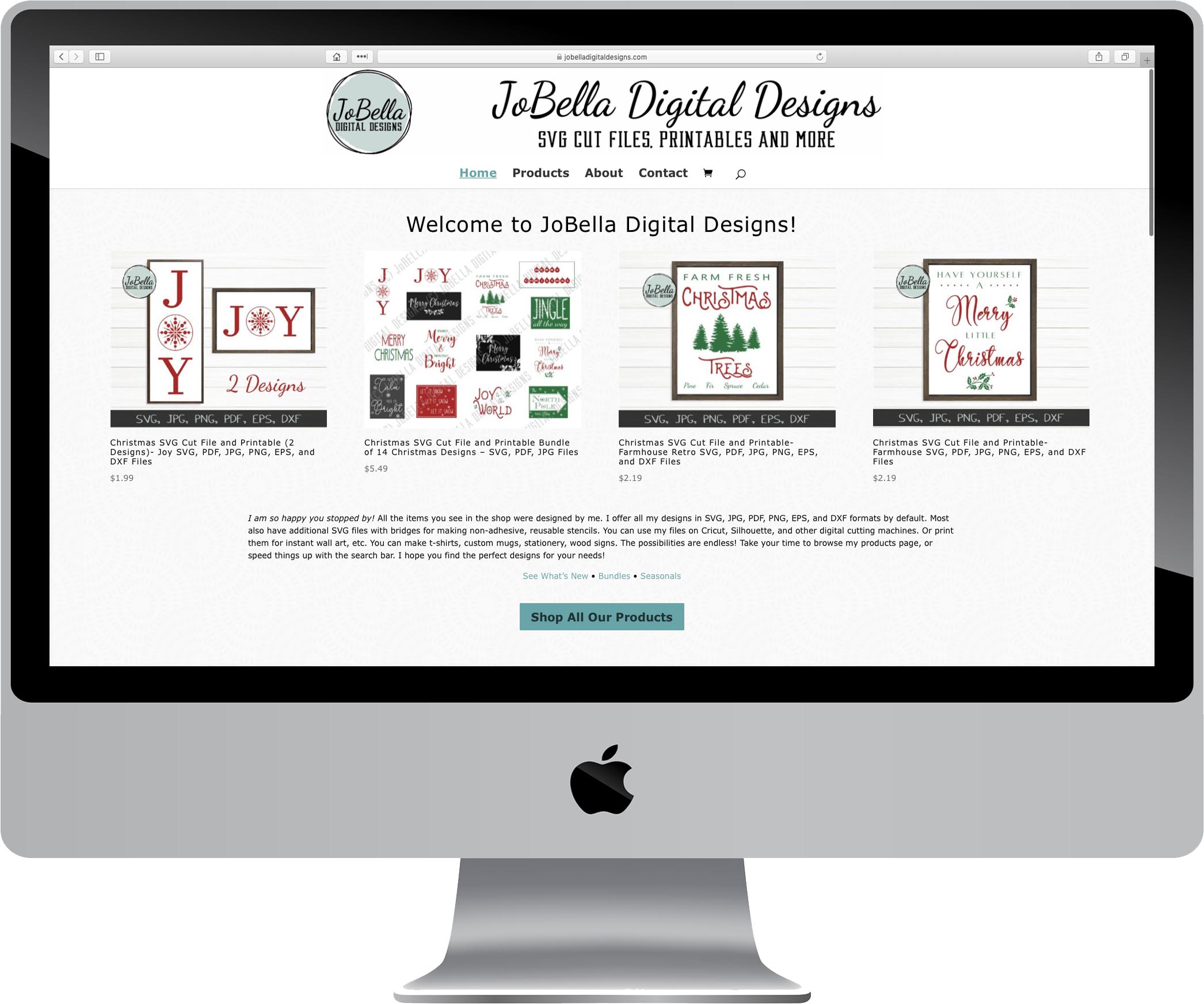 JoBella Digital Designs Website Design