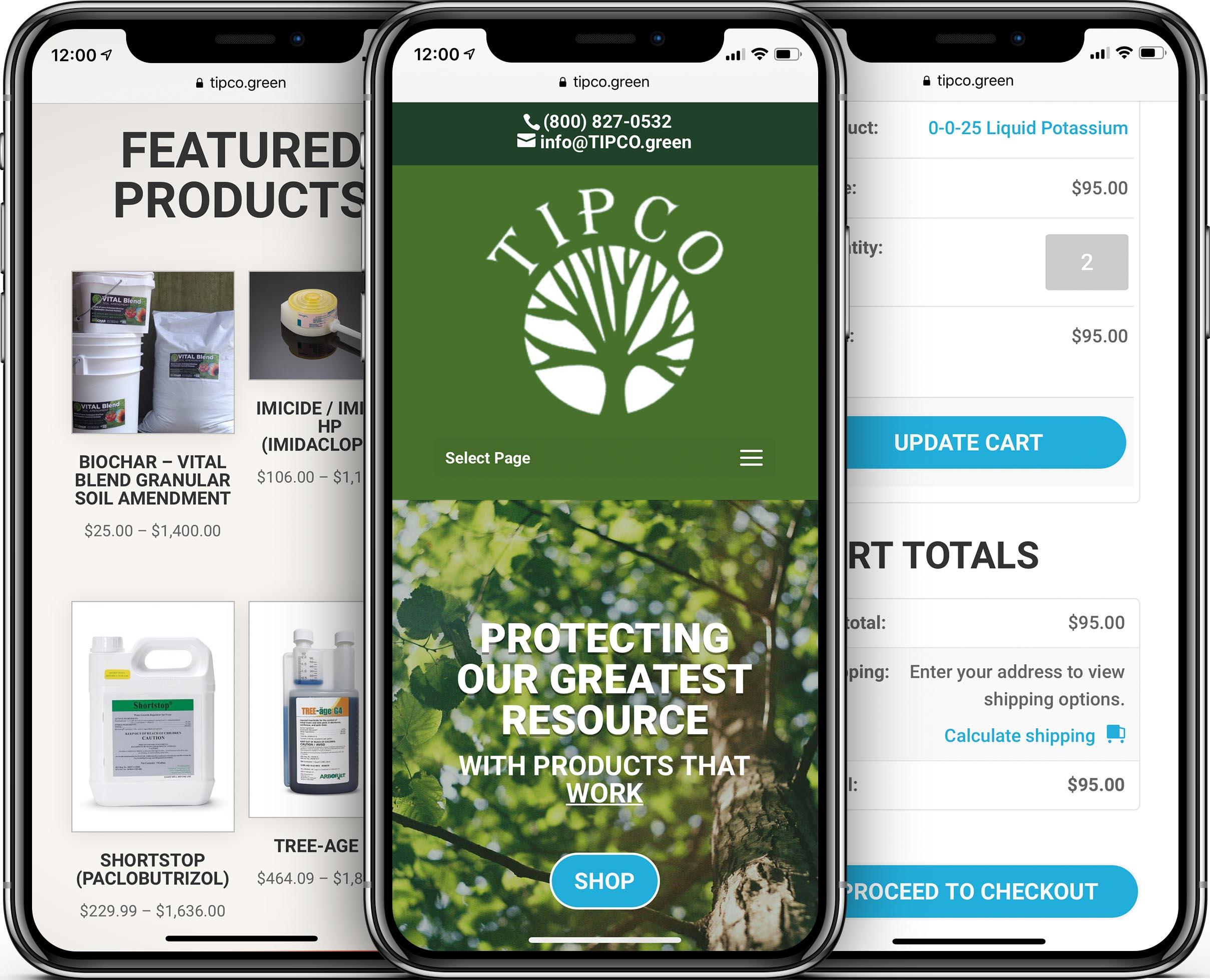 TIPCO Mobile-Friendly Web Design