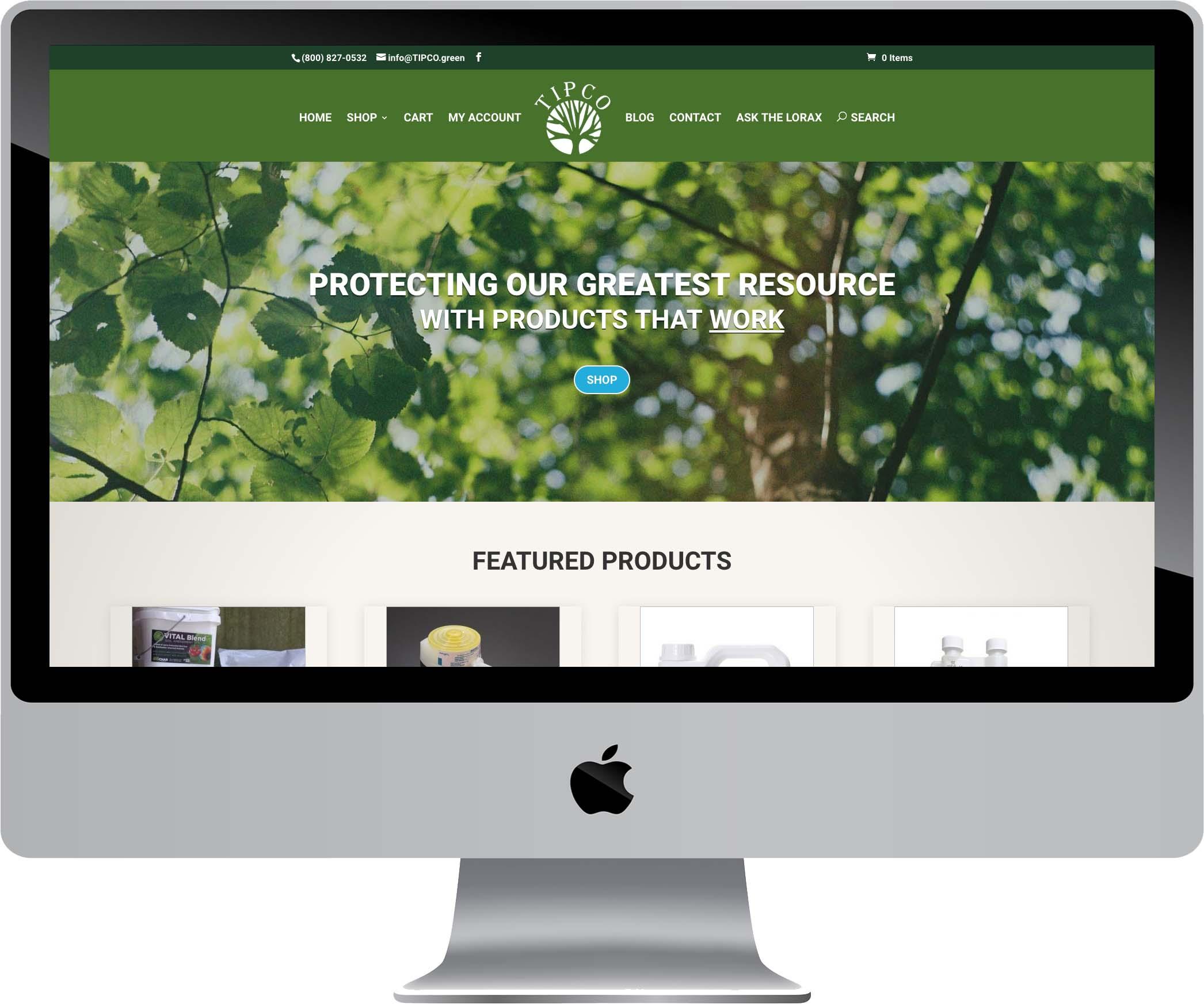 TIPCO Website Design