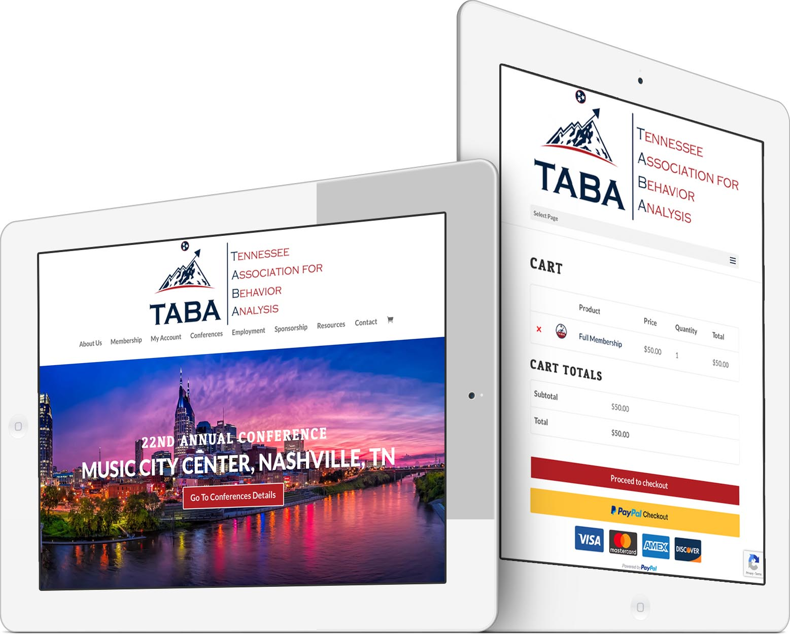 Tennessee Association for Behavior Analysis Responsive Web Design