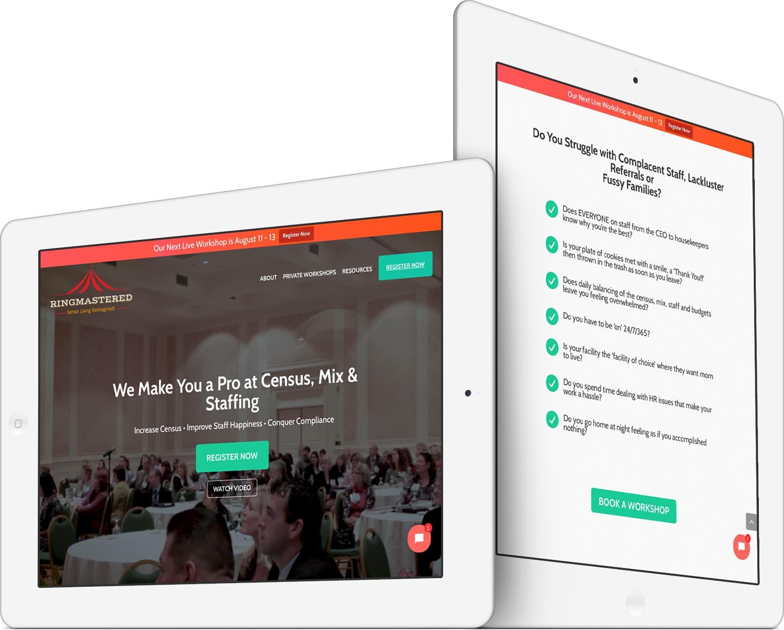 RingMastered Responsive Web Design