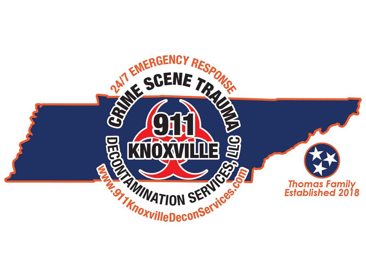 911 Knoxville Crime Scene Trauma Decontamination Services Logo