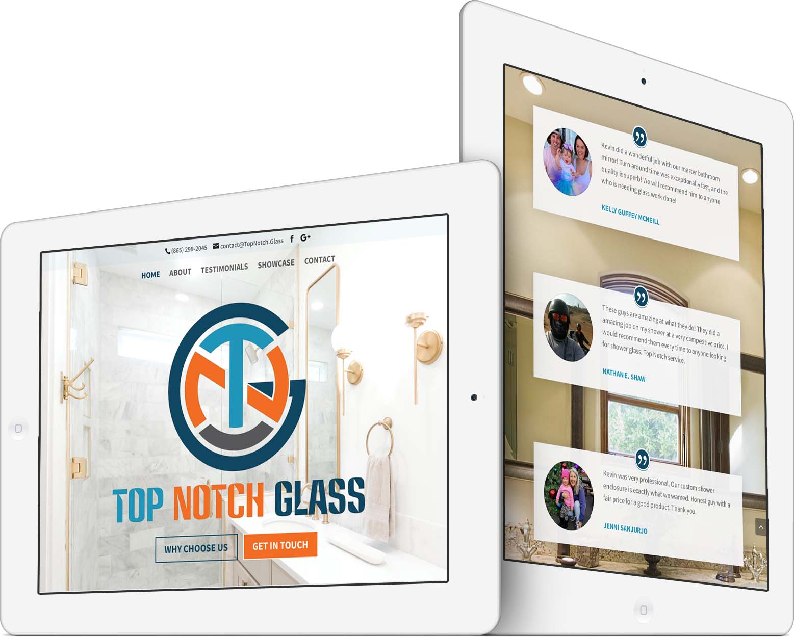 Top Notch Glass Responsive Web Design