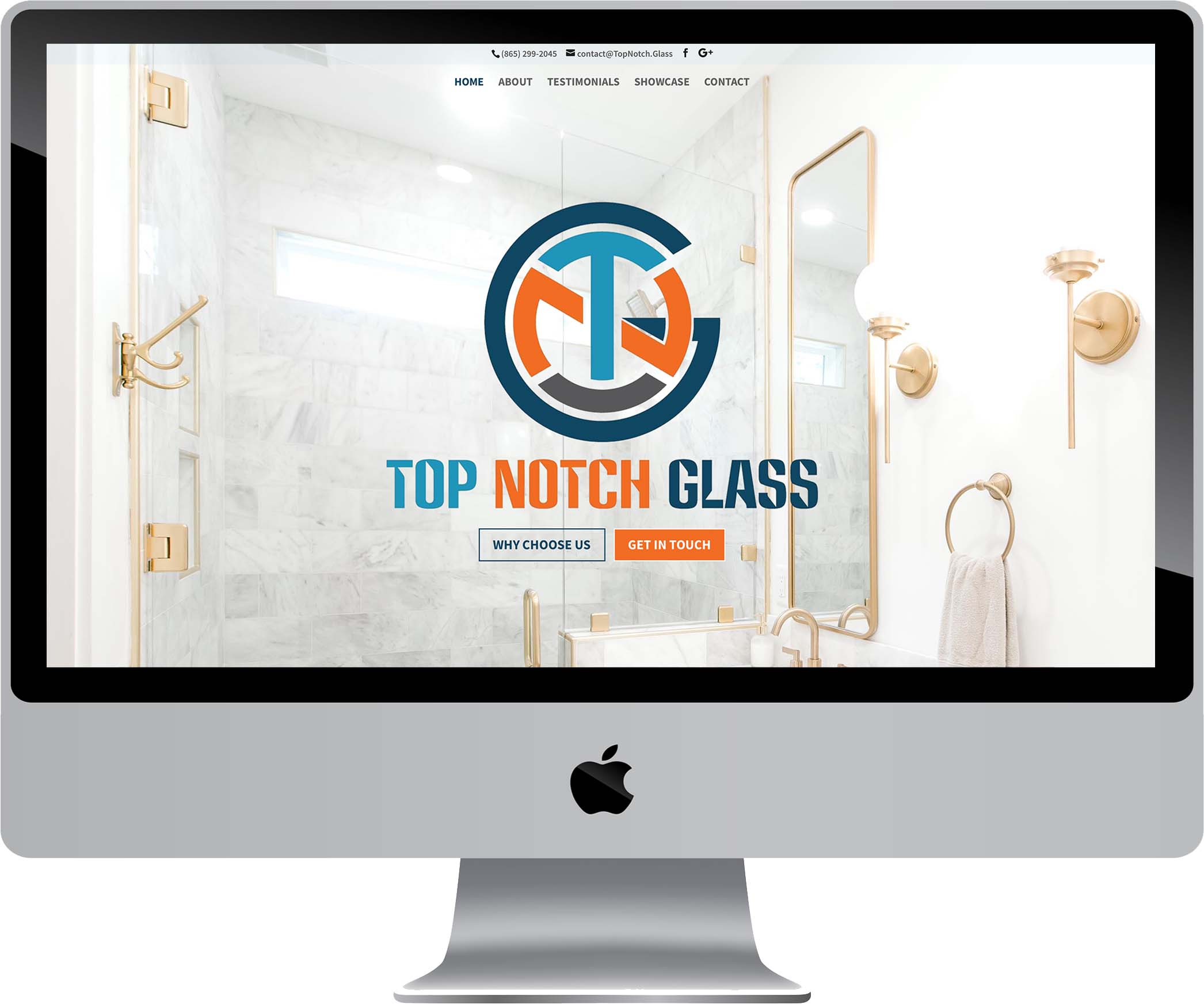 Top Notch Glass Website Design