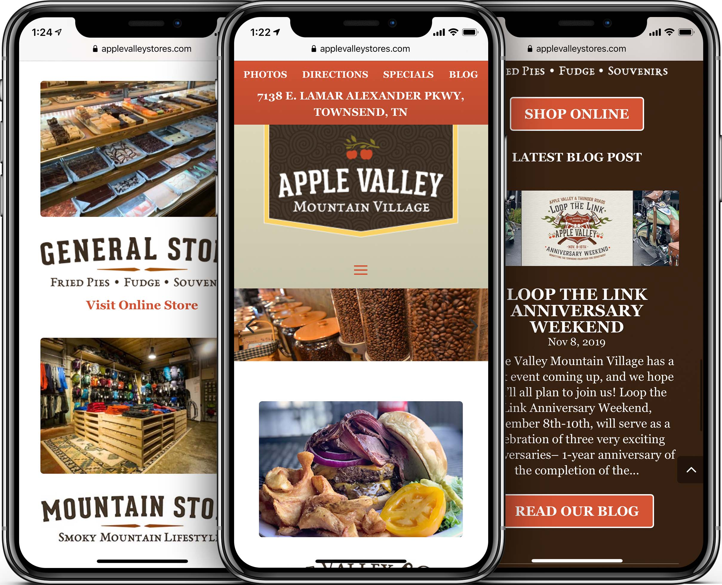 Apple Valley Stores Mobile-Friendly Web Design