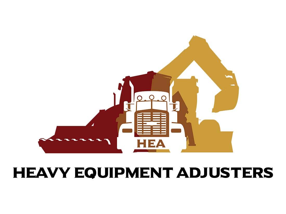 Heavy Equipment Adjusters Logo