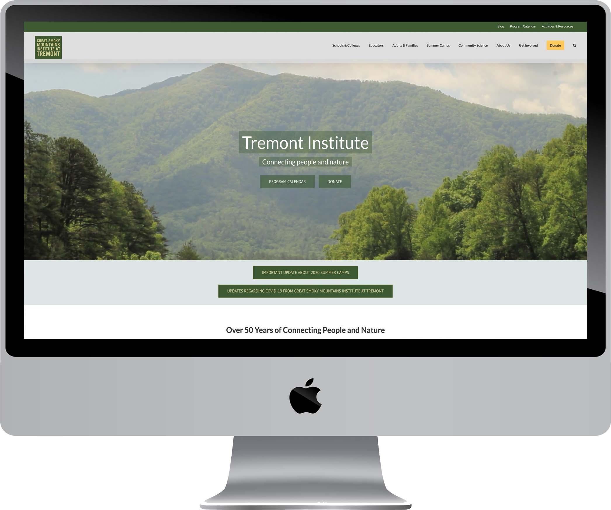 GSMIT Website Design