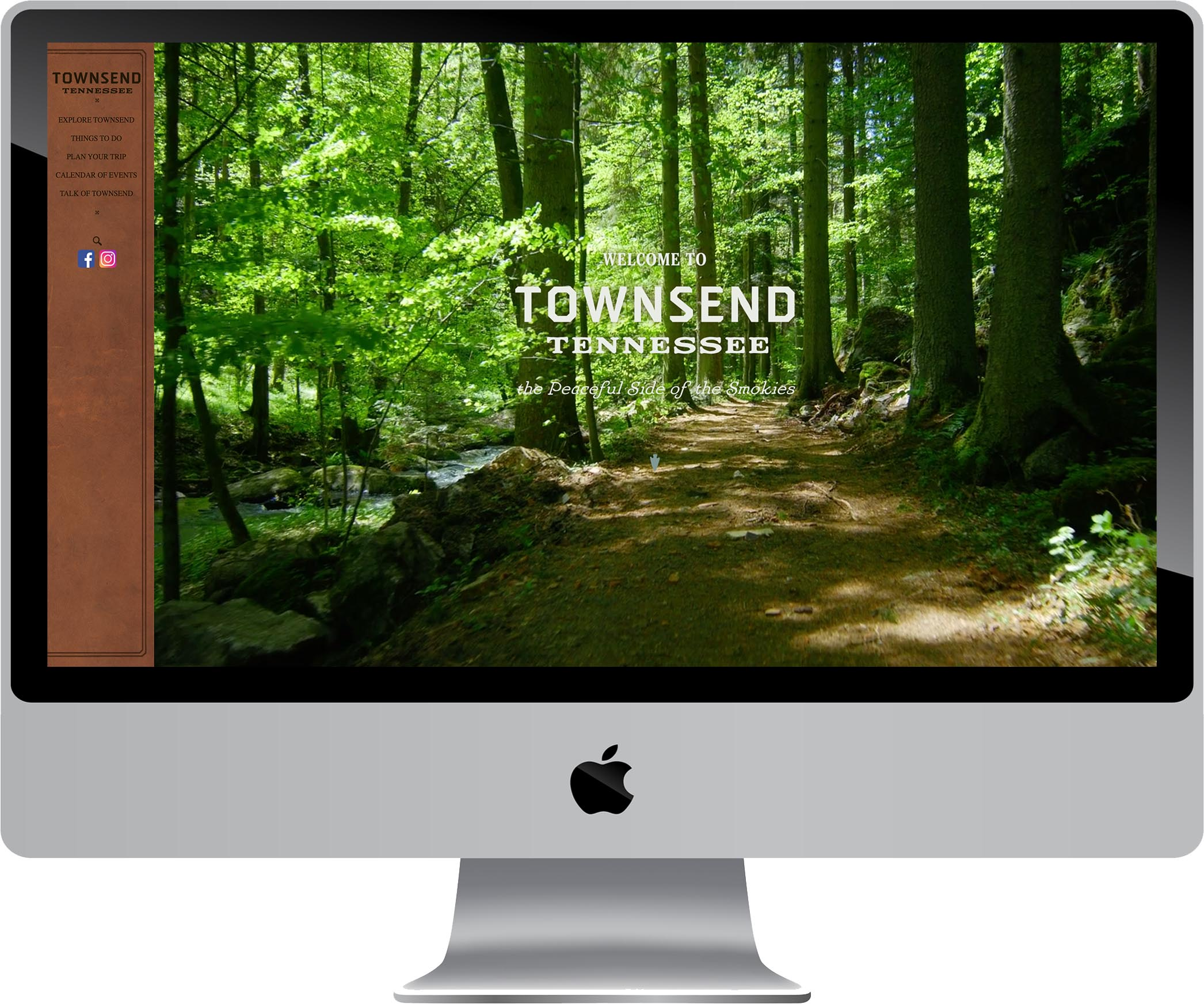 Explore Townsend Website Design