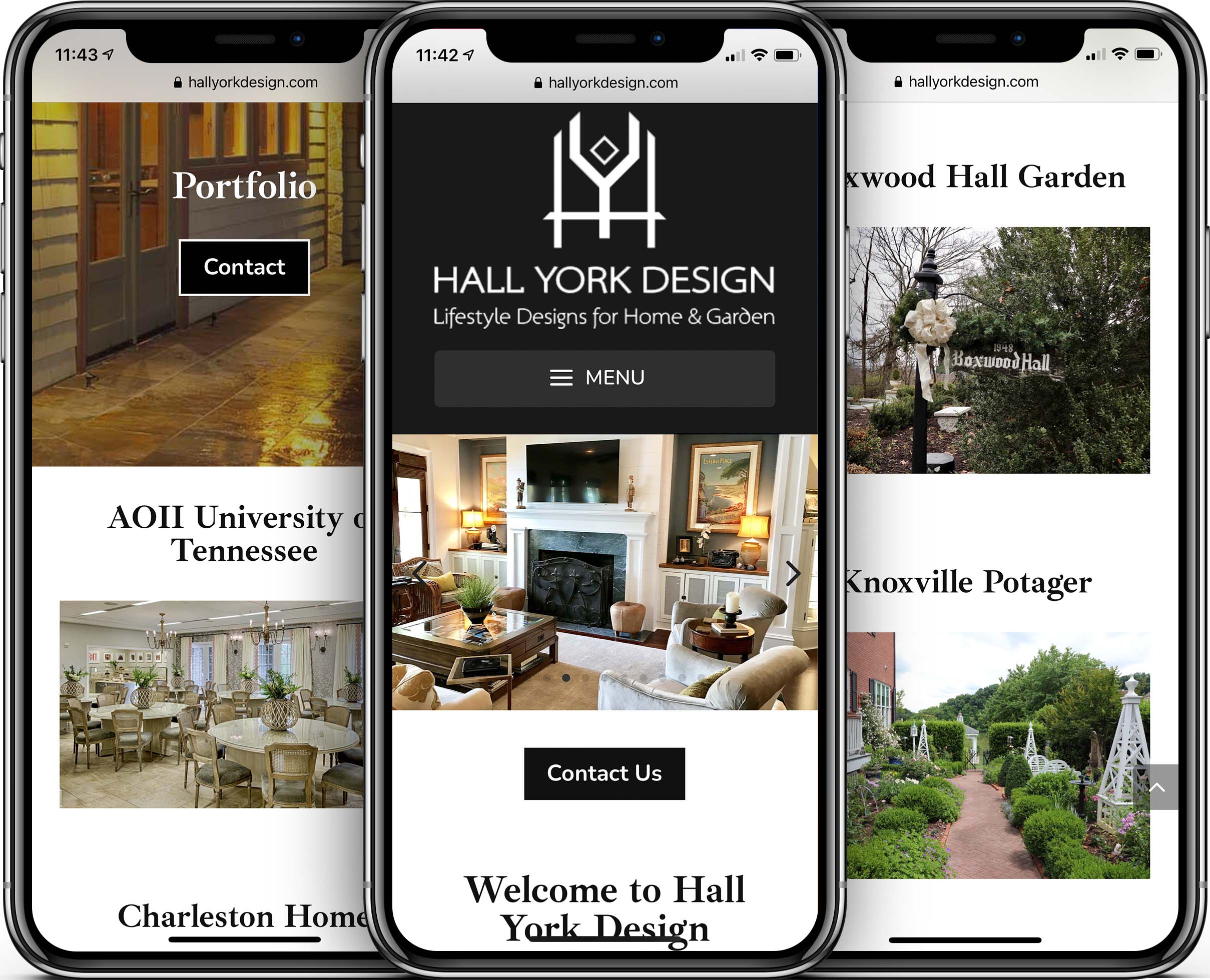 Hall York Design Mobile-Friendly Web Design
