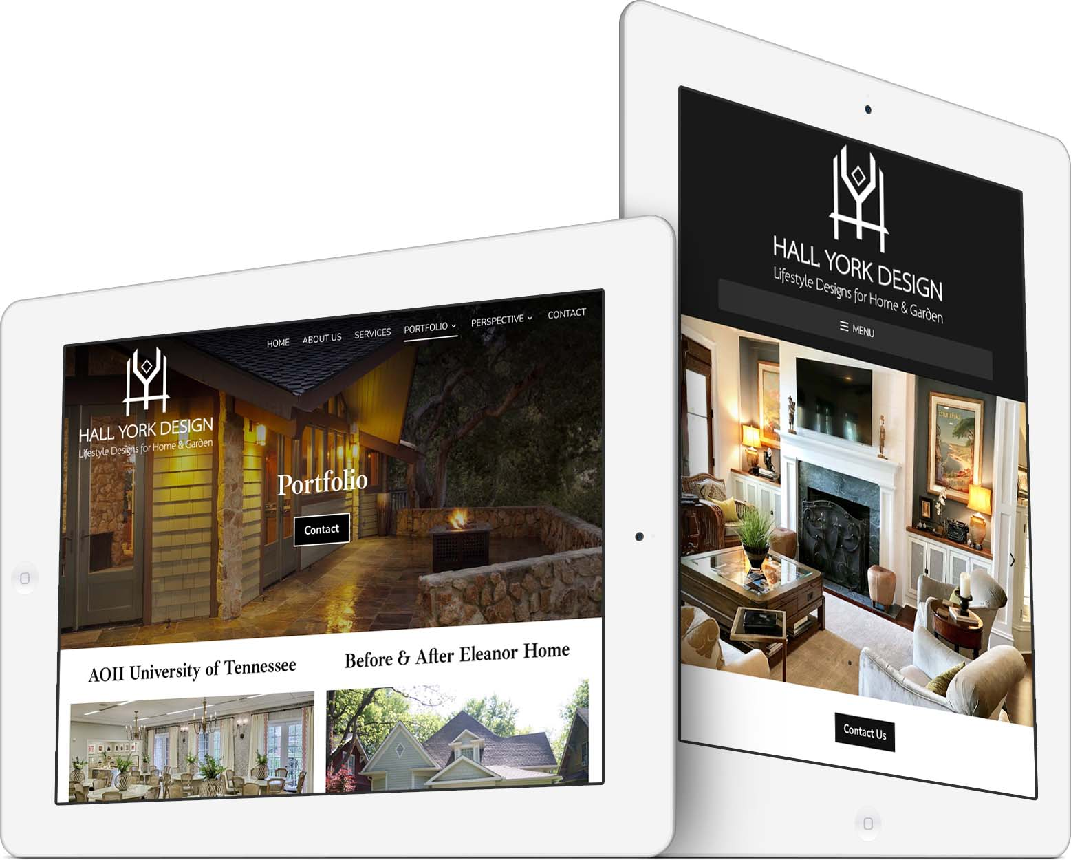 Hall York Design Responsive Web Design