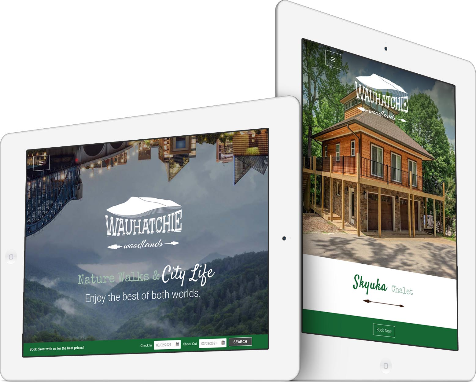 Wauhatchie Woodlands Responsive Web Design
