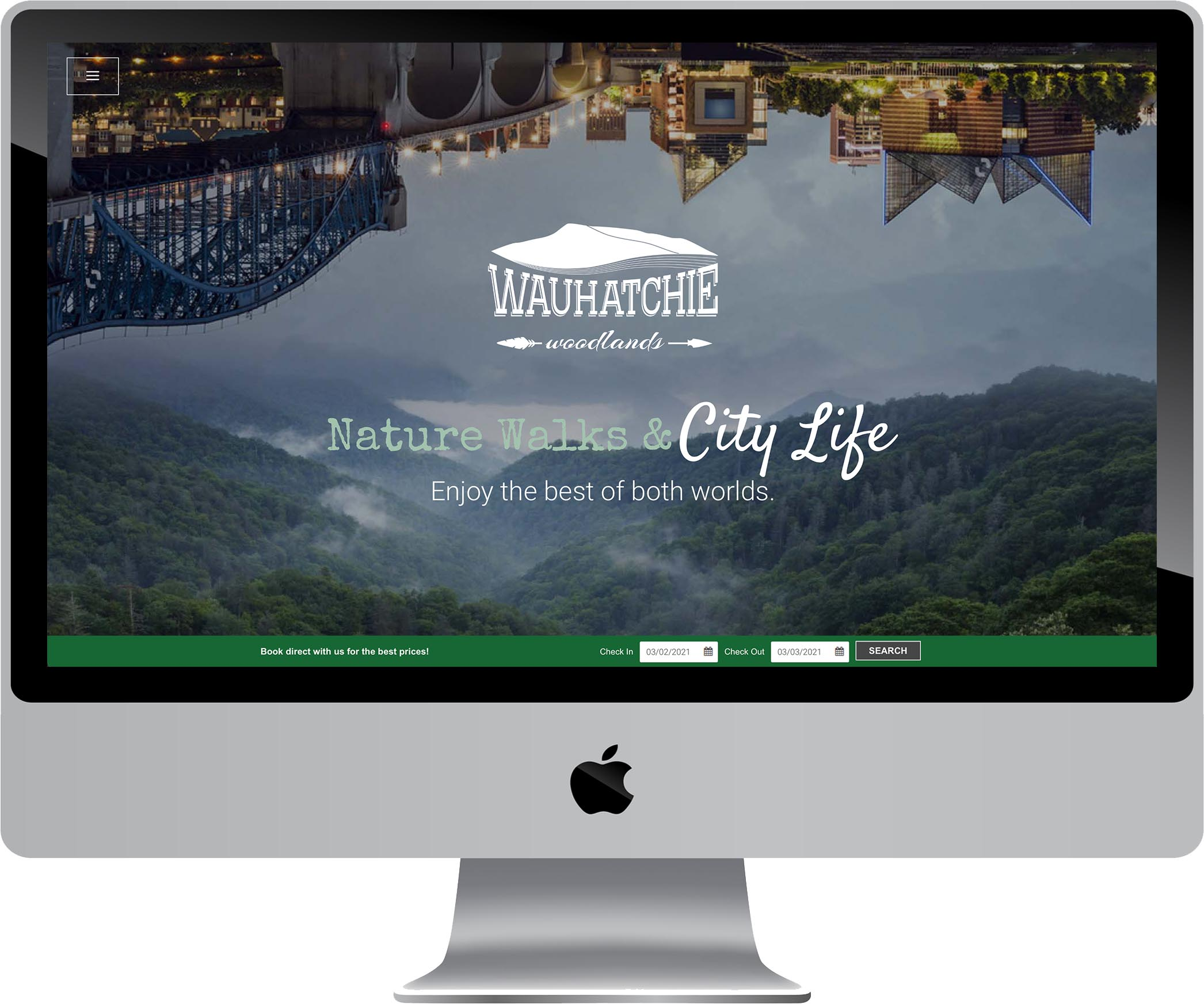 Wauhatchie Woodlands Website Design