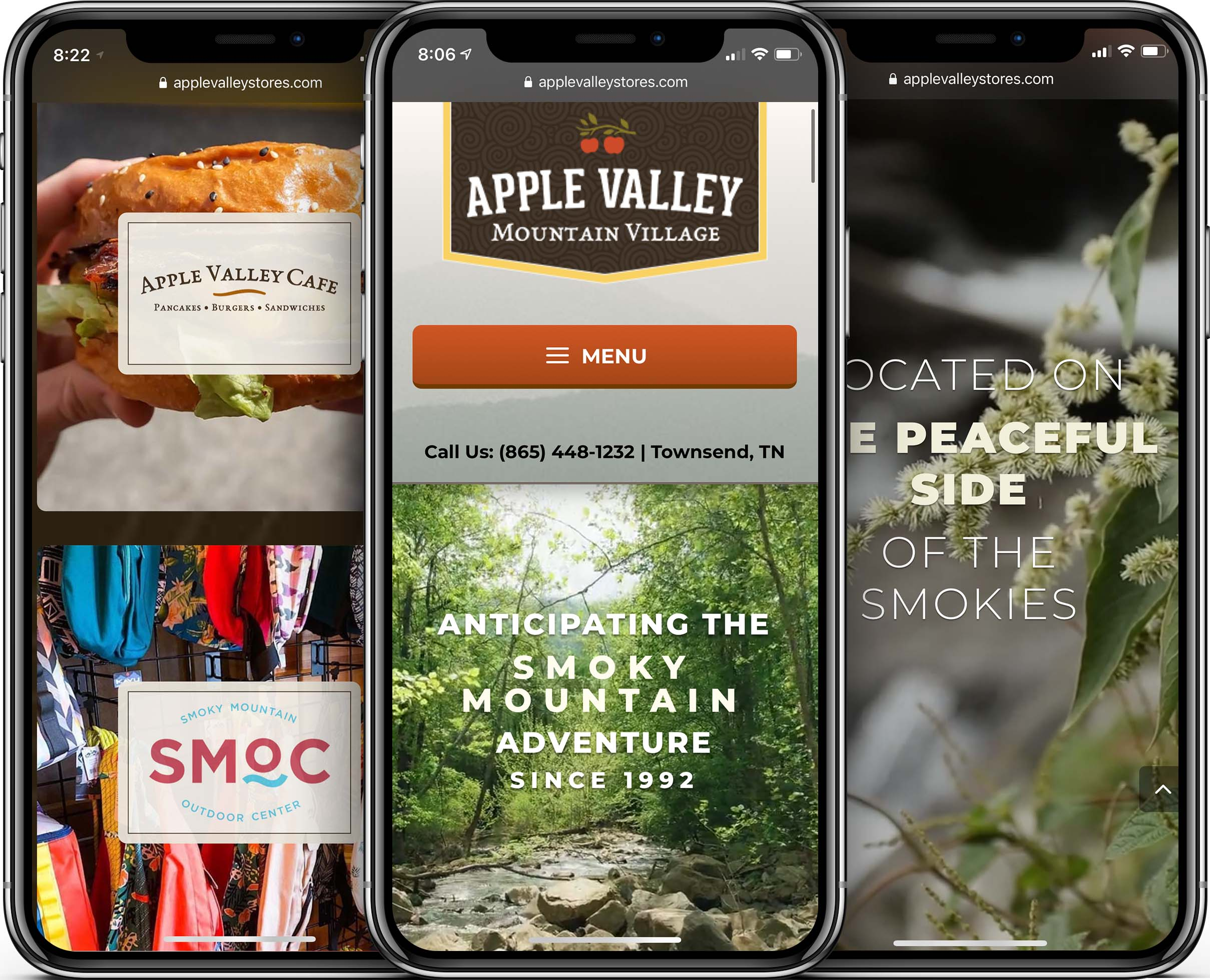 Apple Valley Mountain Village Mobile-Friendly Web Design