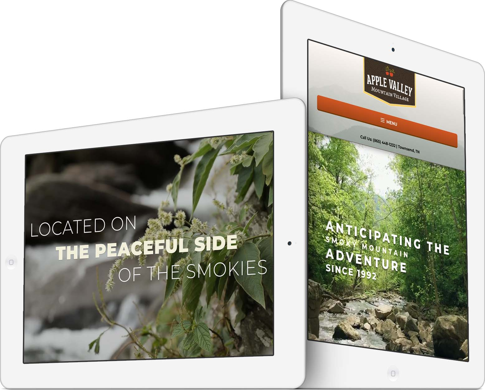 Apple Valley Mountain Village Responsive Web Design